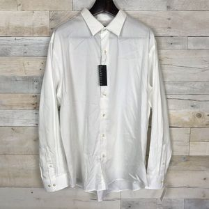 NEW Van Heusen Button Down Dress Shirt Size 18